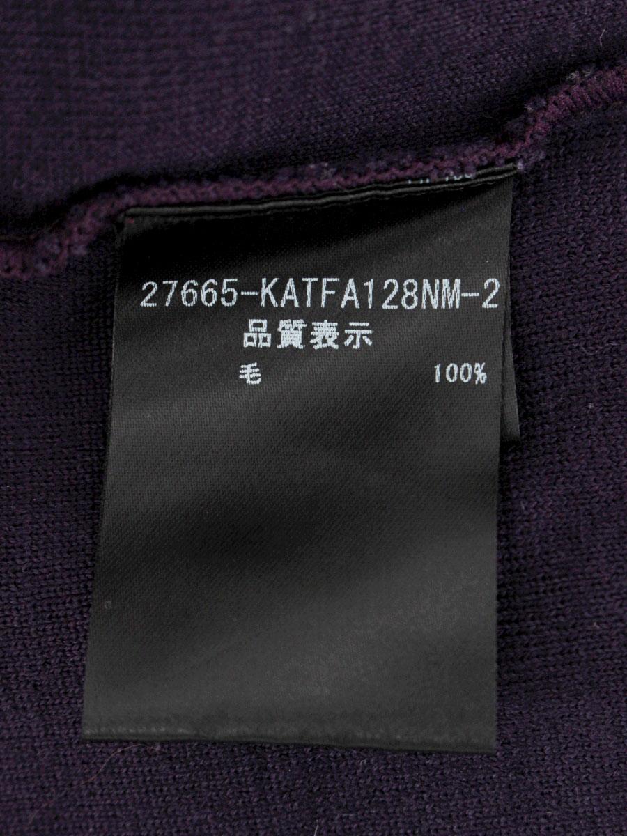 フォクシーブティック Tシャツ カットソー 27665 着やせセーター 無地 長袖 40 Aランクtn200402uOkZiPX