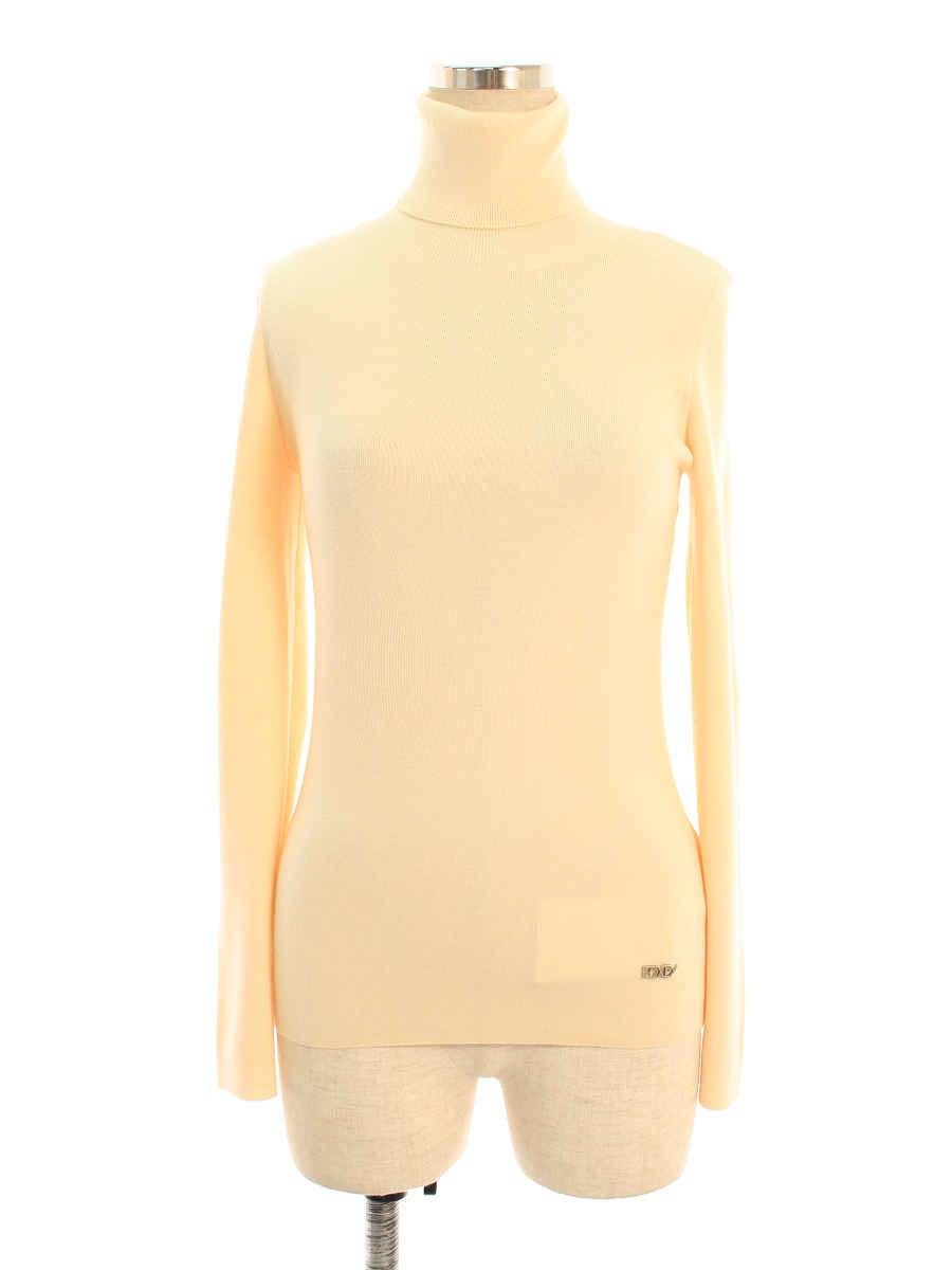 フォクシーブティック ニット セーター 27526 グレースウールセーター ワンポイント 長袖 38【Aランク】 【中古】 tn200405