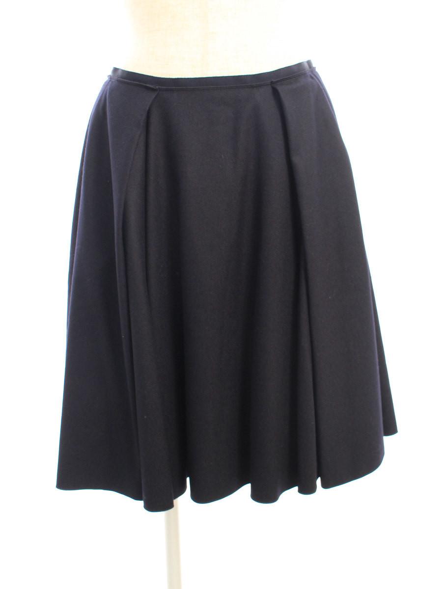 フォクシーブティック スカート 39895 Skirt 無地 40【Aランク】 【中古】 tn200423
