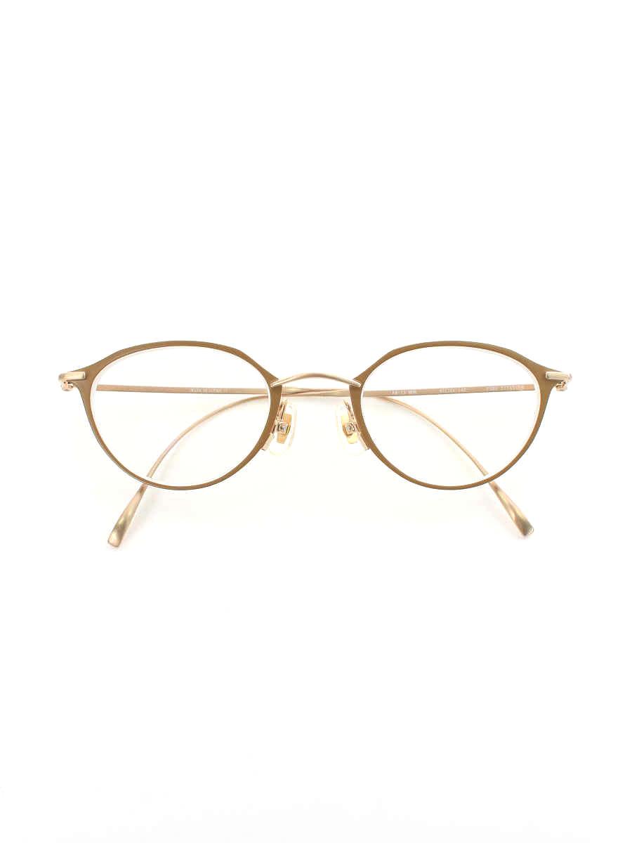 金子眼鏡 メガネ ボストン METAL【Sランク】 【中古】 tn200430