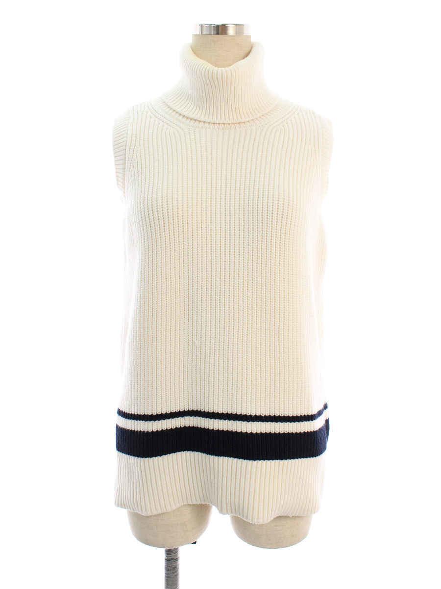 フォクシーニューヨーク collection ニット セーター 40582 Knit 無地 ノースリーブ 38【Bランク】 【中古】 tn200628