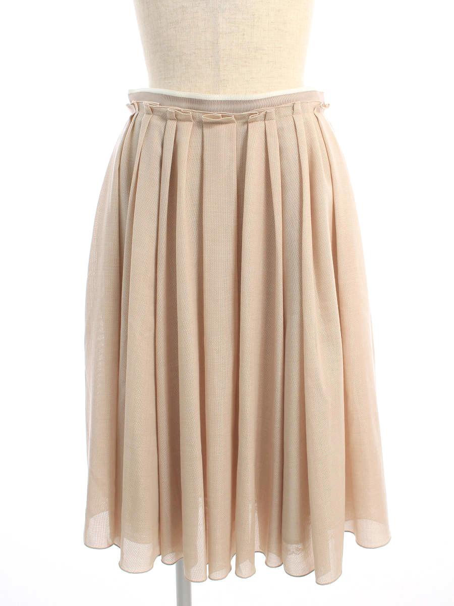 フォクシーブティック スカート 39888 Sunny Skirt 無地 38【Aランク】 【中古】 tn200712