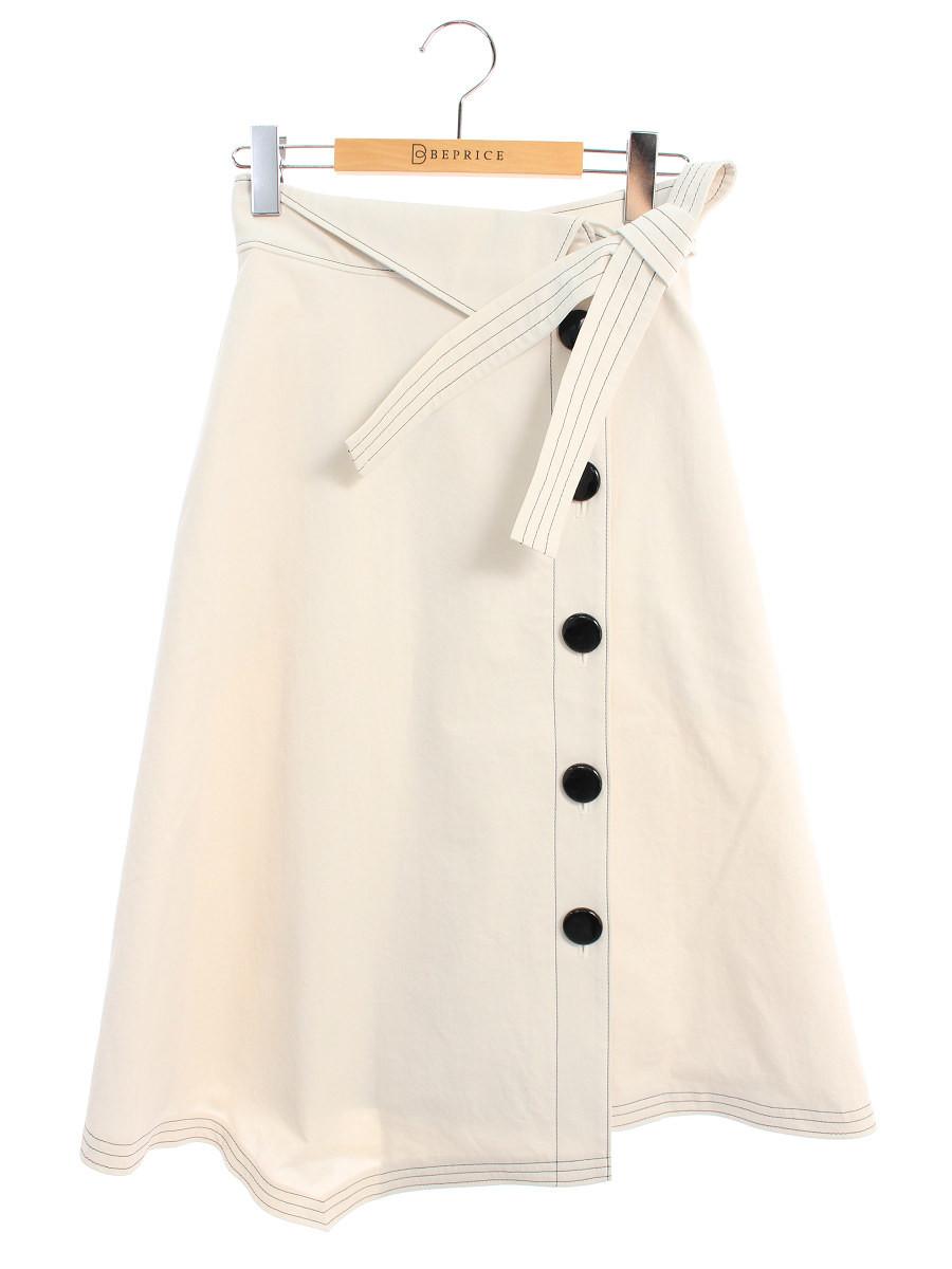 エムズグレイシー スカート Asymmetry Skirt 36【Aランク】 【中古】 tn200726