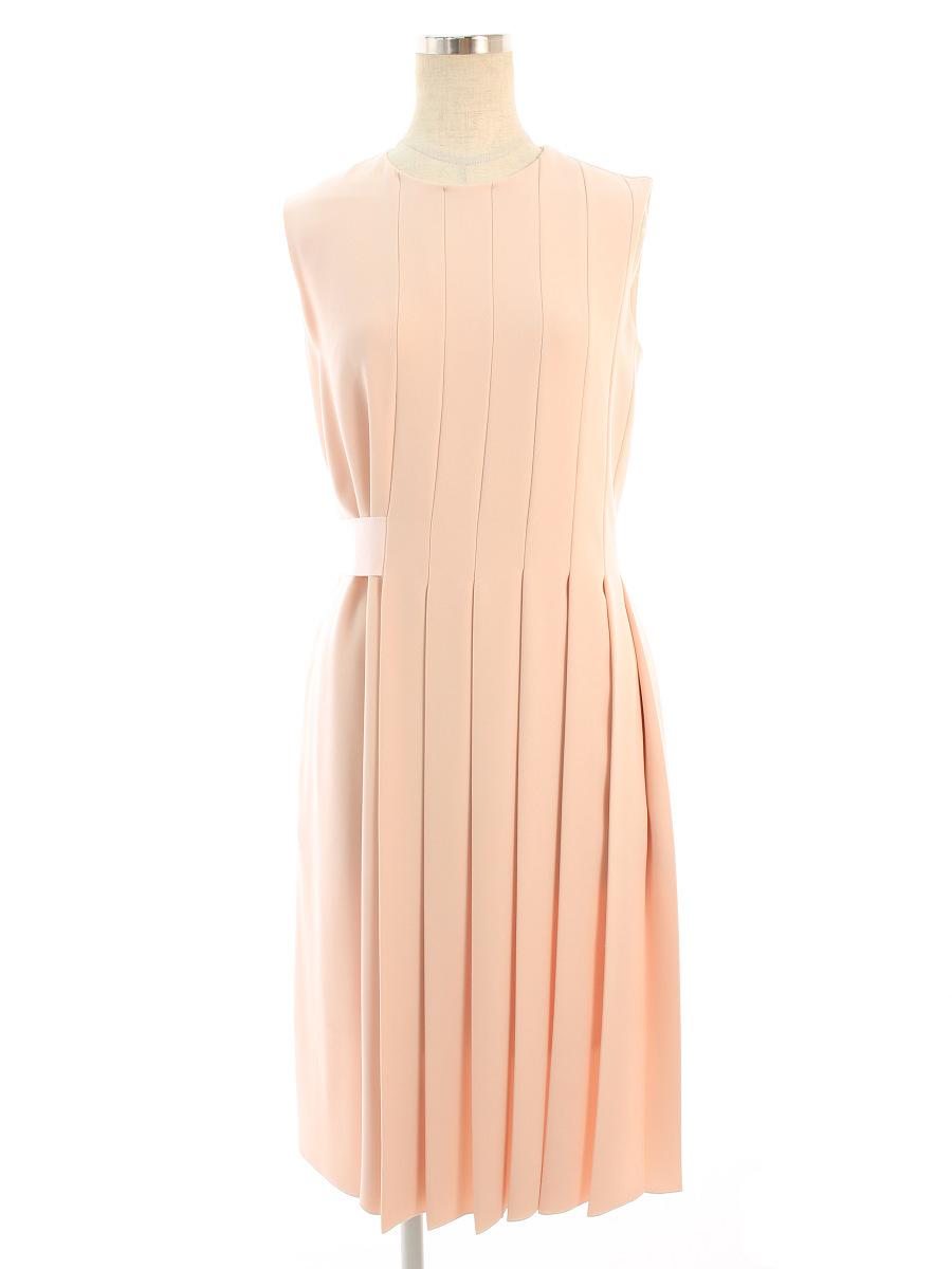 【40%OFF】フォクシーニューヨーク ワンピース ワンピース Asymmetrical Pleat Dress ノースリーブ 38【Aランク】【中古】tn200806 K3fB RSS30