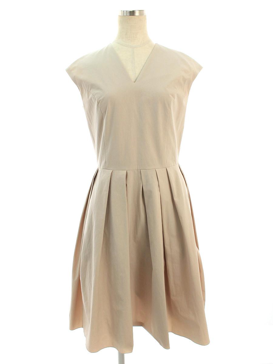 フォクシーニューヨーク ワンピース 35751 Dress 保障 半袖 38 中古 品質保証 Aランク tn201018