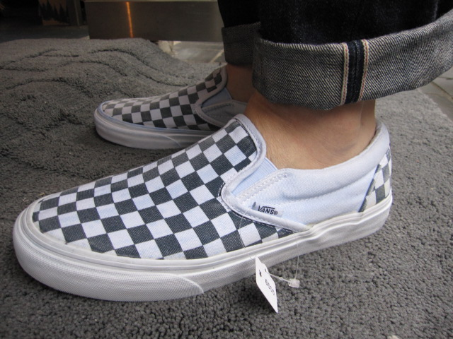 vans slip on mix