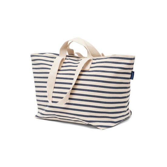 BAGGU 巴格 | 周末袋 | 周端袋 | 再生的棉帆布拉链手提袋 2 路