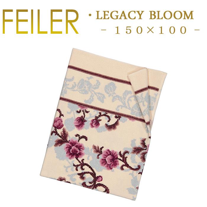 送料無料 フェイラー Feiler ラージバスタオル 100×150 レガシーブルーム LEGACYBLOOM Chenille あす楽 対応