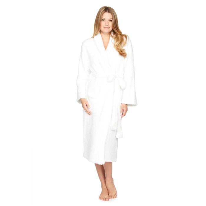 ベアフットドリームス 509 ホワイトB509-01 コージー バスローブ Cozychic Adult Robe