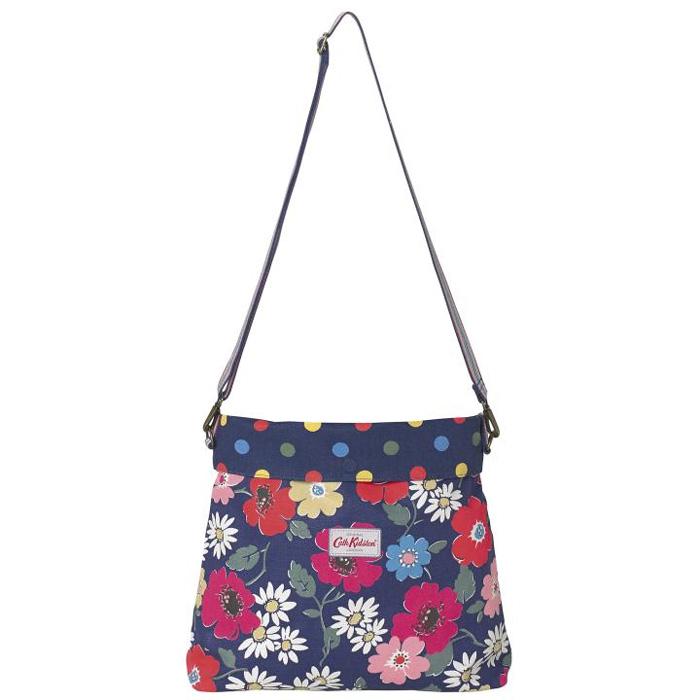 Cath kidston reversible two-fold Messenger bag paradise flowers 481779