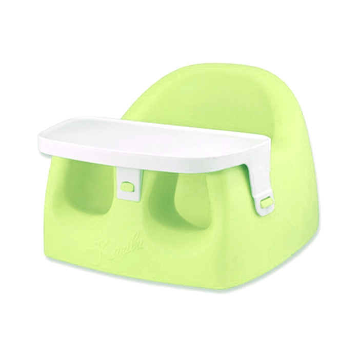 Other Excellent Condition Imported From Abroad Bumbo Green Baby Floor Seat With Straps And Tray