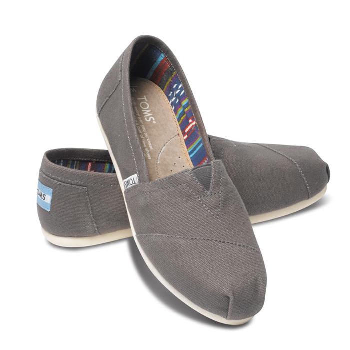 1e35f3fa9da4 bergershop  Tom s Thoms shoes canvas men classical music Ashe slip ...