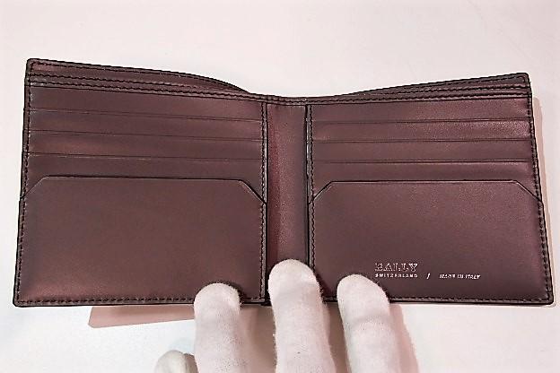 35fc130d81b0 楽天市場】美品 バリー BALLY メンズ 財布 二つ折り財布 紺 ネイビー ...