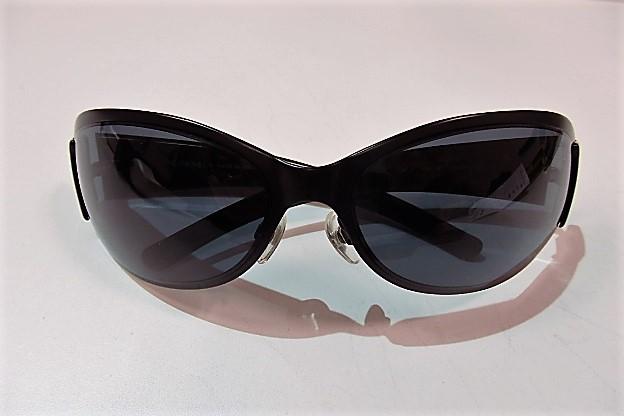 シャネル CHANEL サングラス 4116 ブラック 黒 プラスチック ココマーク スポーツ メガネ 眼鏡 アイウェア アクセサリー ファッション 小物 メンズ レディース 【中古】 bc851