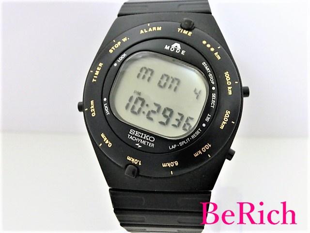 セイコー スピードマスター A828-4000 ジウジアーロ SS デイト メンズ 腕時計 クォーツ QZ グレー文字盤 SEIKO 【中古】【送料無料】 ht2632