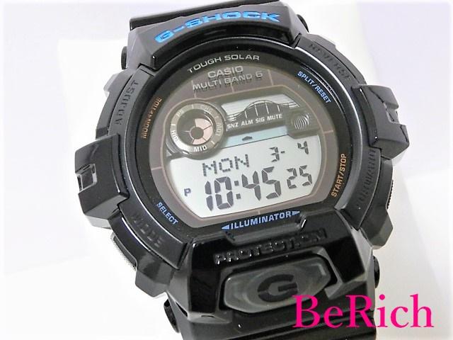 美品 カシオ G-SHOCK GWX-8900 タフソーラー 200m防水 メンズ 腕時計 ブラック文字盤 樹脂 デイデイト CASIO 【中古】 ht2663