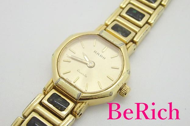 ラドー RADO レディース 腕時計 133.9659.2 ゴールド 文字盤 SS 中古 クォーツ ウォッチ bt1915 超歓迎された ブレス 送料無料 賜物 アナログ QZ