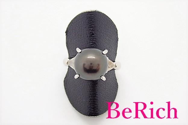 ジュエリーマキ Pt850 プラチナ 南洋 パール 真珠 ダイヤモンド 0.29ct デザイン リング 指輪 11.5号 メレ 宝石 ジュエリー アクセサリー 【中古】【送料無料】th3223