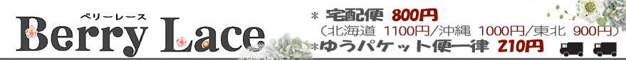 レース専門店BerryLace:手芸レース・ワッペン・リボンなどの手芸用品専門店BerryLace~ベリーレース