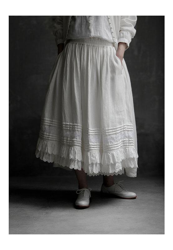 Joie de Vivre Italy linen washer decoration Ulu rhein Tieck skirt