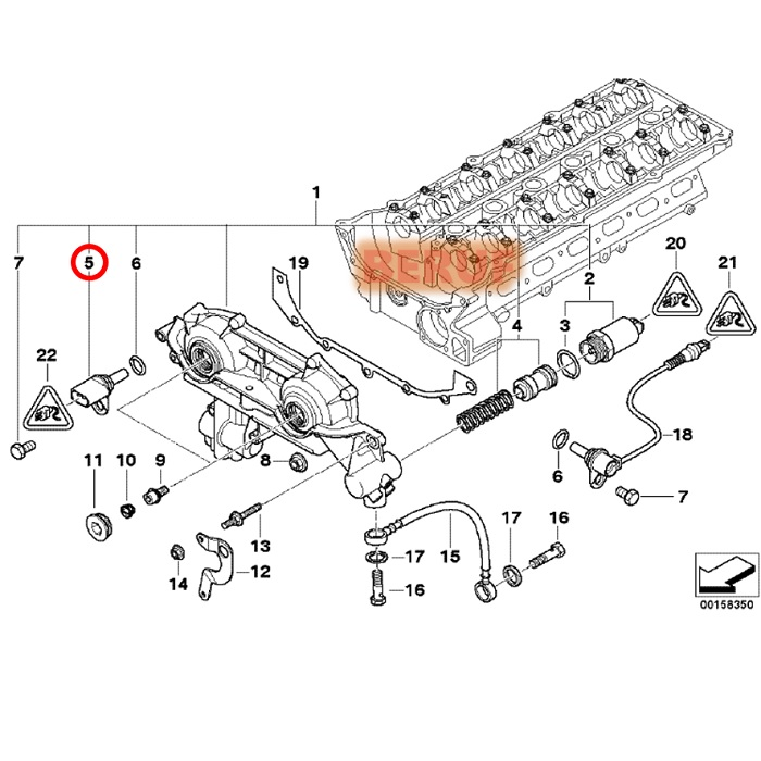 Bmw Camshaft Position Sensor Location