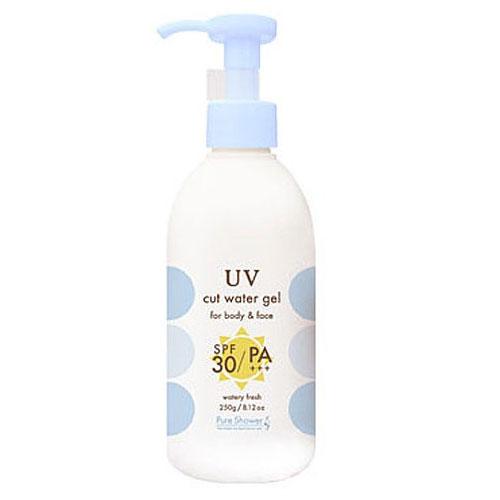 Pure shower UV cut gel 250 g (SPF30/PA+++) sunscreen