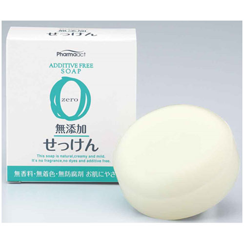 熊野油脂 ファーマアクト 無添加せっけん 100g 60個セット 【ケース販売】