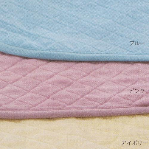京都西川 ローズメリノ 洗えるウール敷きパッド シングルサイズ (100×205cm) WPO 1238 ピンク 日本製