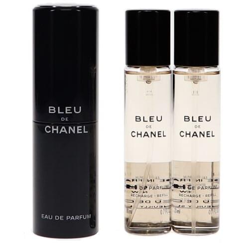 シャネル ブルー ドゥ シャネル EDP オードパルファム リフィル 20ml×3 (本体1本、リフィル2本) (香水) CHANEL