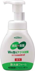 熊野油脂 ファーマアクト アクネ対策 薬用泡洗顔フォーム 180ml 48本セット 【ケース販売】