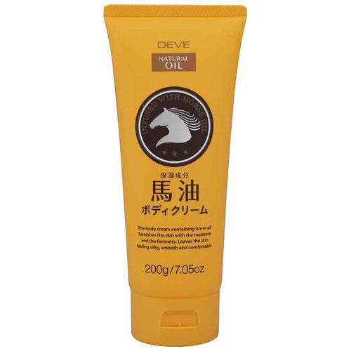 熊野油脂 ディブ 馬油ボディクリーム 200g 36本セット 【ケース販売】