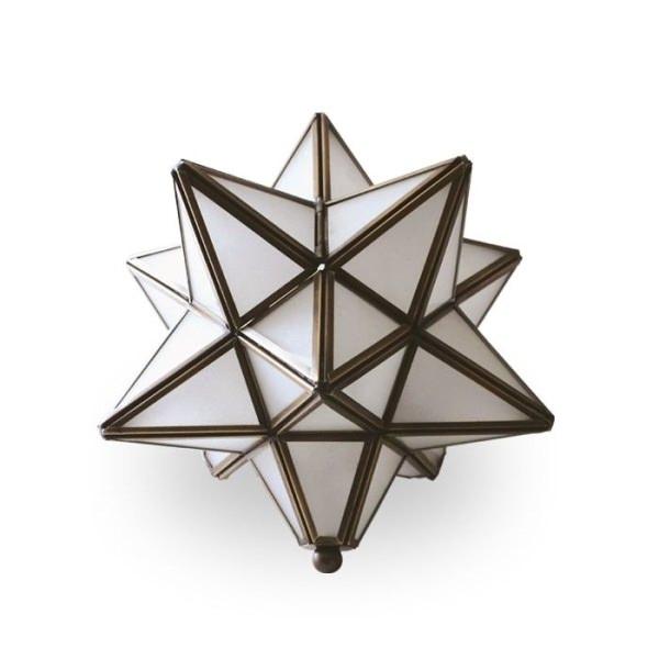 テーブルランプ エトワール フロスト DI CLASSE ディクラッセ 照明 卓上照明 テーブル デザイナーズ ナチュラル クラシック モダン シンプル レトロ アンティーク 真鍮 モロッコ