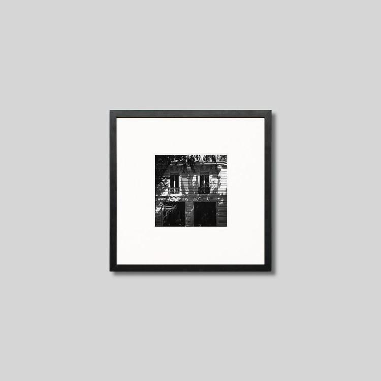ウッド黒フレーム 正方形Sサイズ インテリア アート フォト プロ作品 デザイナー デザイン フォトグラフ 豊かなおうち時間 男前インテリア IGREBOW パリの町並み 低廉 モダン インテリアフォト モノクロ ピクチャーアート フランス アイグレボウ モノクローム 写真 スタイリッシュ 売却