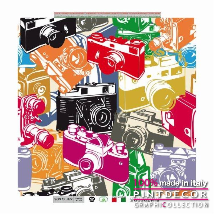 デコレーションパネル PINTDECOR グラフィコレクション REFLEX G1378|ピントデコール イタリア アートパネル ウォールデコ ペインティング 絵画 リビング インテリア デザイン モダン ホテルライク 新居 イタリア直輸入