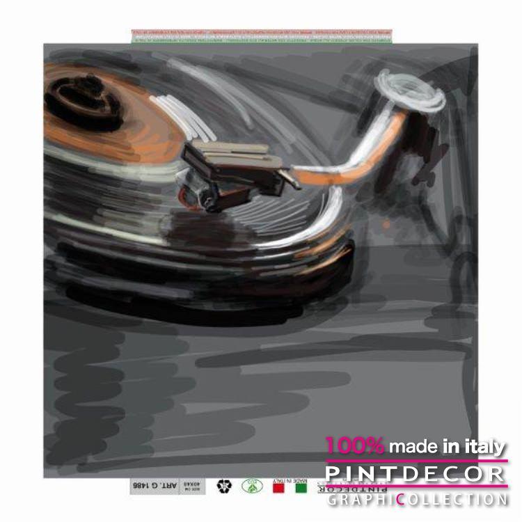 デコレーションパネル PINTDECOR グラフィコレクション DISCO G1486|ピントデコール イタリア アートパネル ウォールデコ ペインティング 絵画 リビング インテリア デザイン モダン ホテルライク 新居 イタリア直輸入