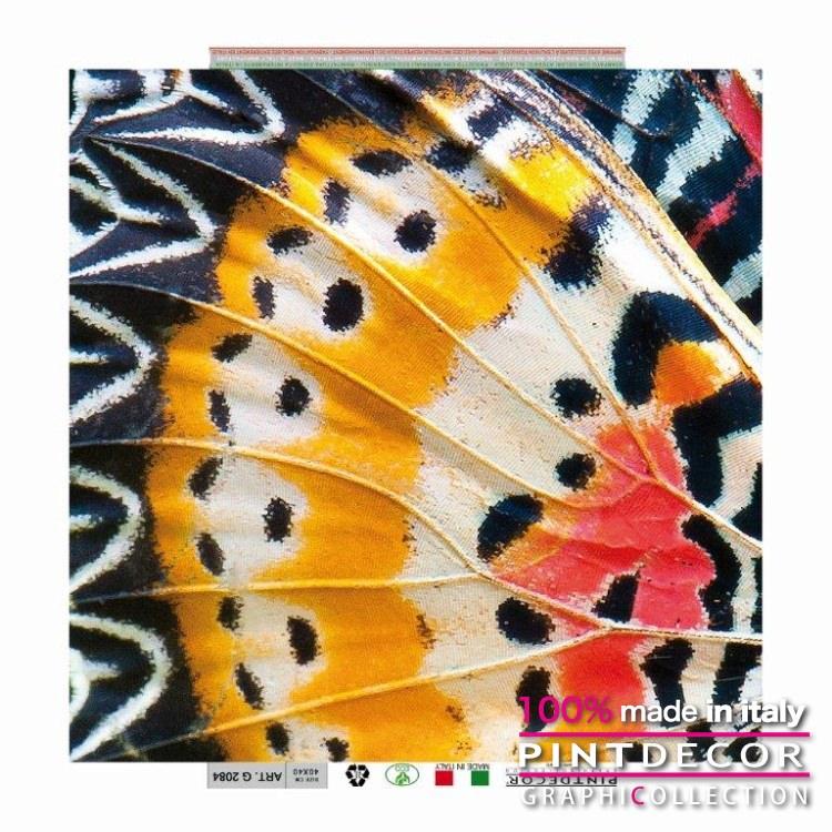 デコレーションパネル PINTDECOR グラフィコレクション ALI DI FARFALLA G2084 ピントデコール イタリア アートパネル ウォールデコ ペインティング 絵画 リビング インテリア デザイン モダン ホテルライク 新居 イタリア直輸入