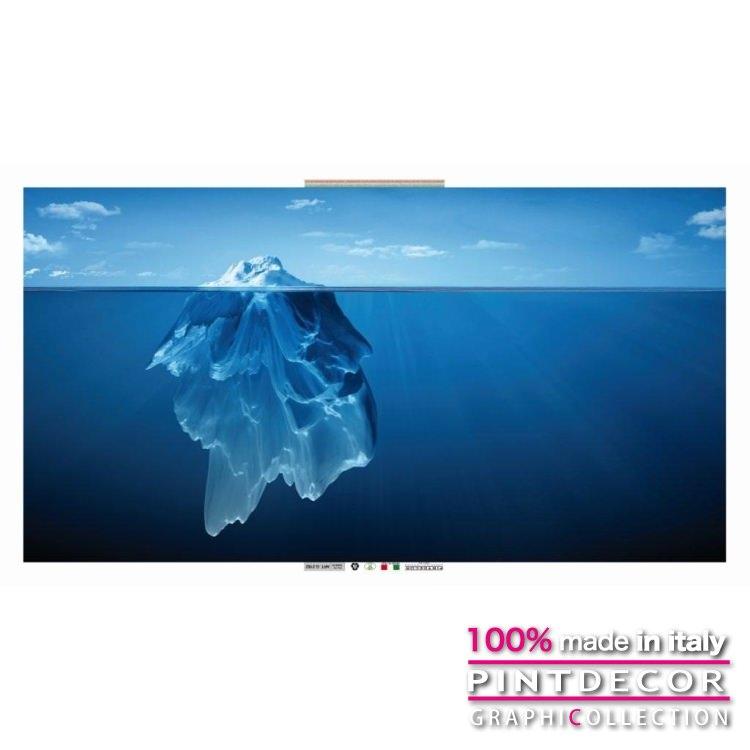 デコレーションパネル PINTDECOR グラフィコレクション ICEBERG G2162|ピントデコール イタリア アートパネル ウォールデコ ペインティング 絵画 リビング インテリア デザイン モダン ホテルライク 新居 イタリア直輸入