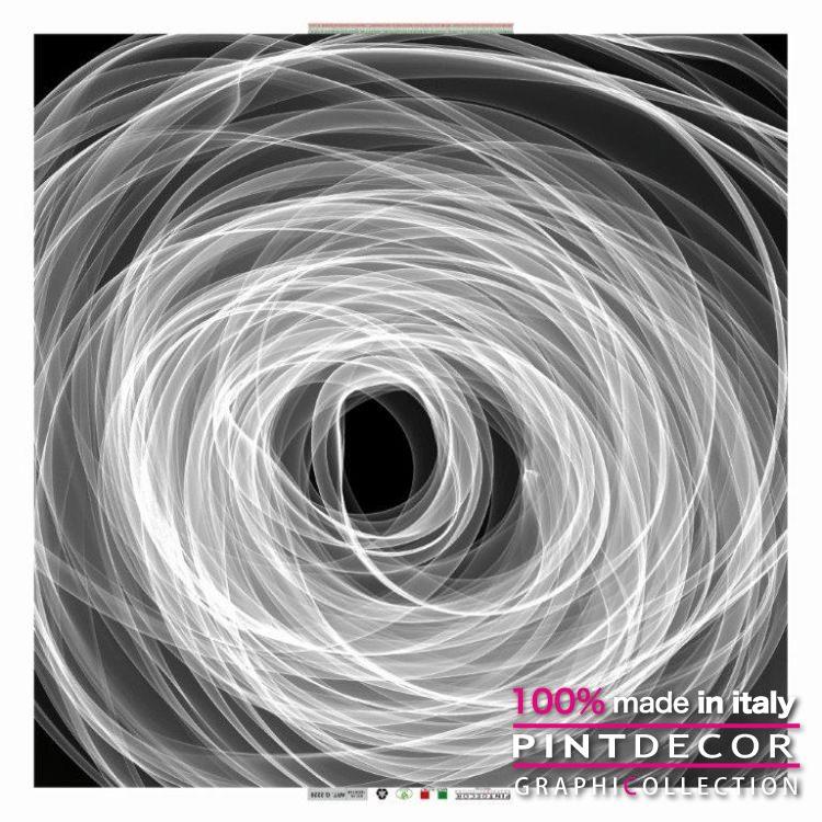 デコレーションパネル PINTDECOR グラフィコレクション VORTICE DI LINEE G2220 ピントデコール イタリア アートパネル ウォールデコ ペインティング 絵画 リビング インテリア デザイン モダン ホテルライク 新居 イタリア直輸入