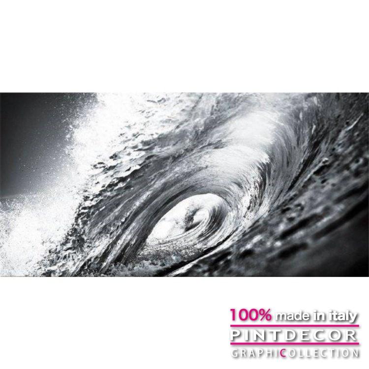 デコレーションパネル PINTDECOR グラフィコレクション WAVE G2874|ピントデコール イタリア アートパネル ウォールデコ ペインティング 絵画 リビング インテリア デザイン モダン ホテルライク 新居 イタリア直輸入