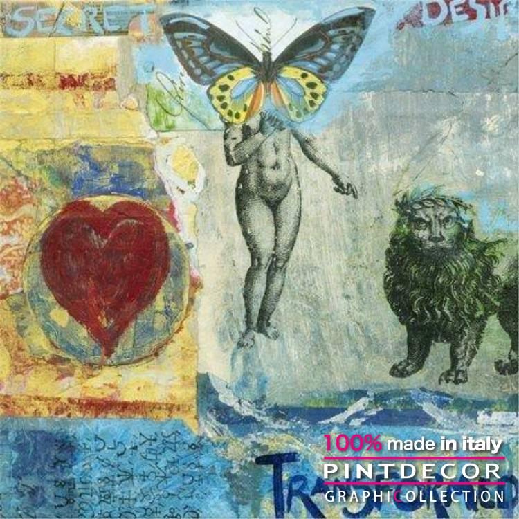デコレーションパネル PINTDECOR グラフィコレクション TRASFORMED G2946|ピントデコール イタリア アートパネル ウォールデコ ペインティング 絵画 リビング インテリア デザイン モダン ホテルライク 新居 イタリア直輸入