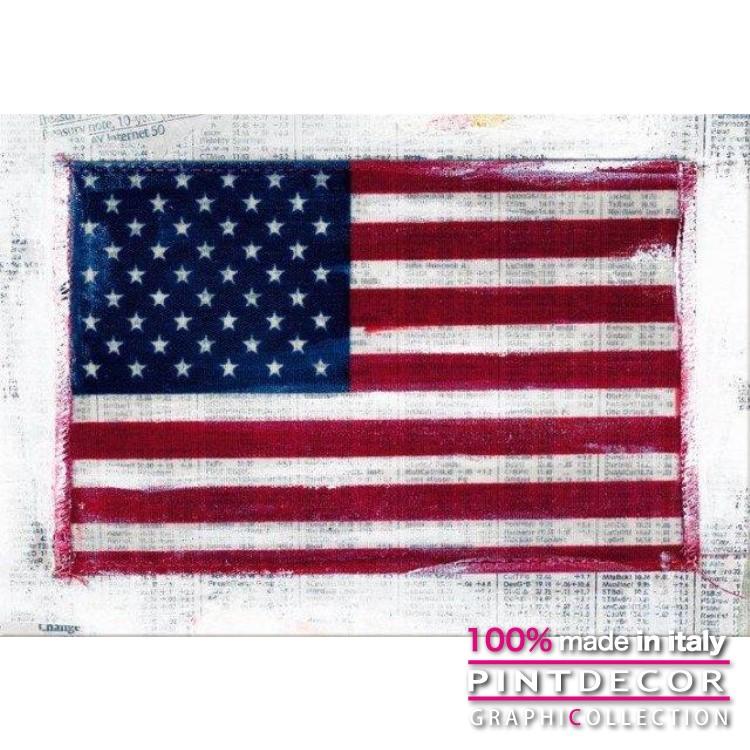 デコレーションパネル PINTDECOR グラフィコレクション USA G3002|ピントデコール イタリア アートパネル ウォールデコ ペインティング 絵画 リビング インテリア デザイン モダン ホテルライク 新居 イタリア直輸入