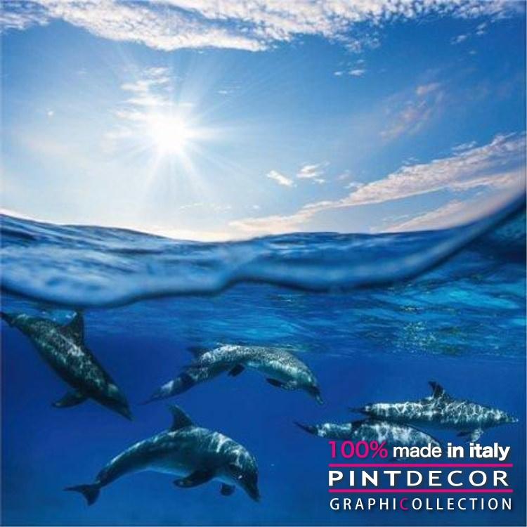 デコレーションパネル PINTDECOR グラフィコレクション BLUE SEA G3328|ピントデコール イタリア アートパネル ウォールデコ ペインティング 絵画 リビング インテリア デザイン モダン ホテルライク 新居 イタリア直輸入