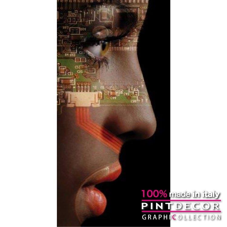 デコレーションパネル PINTDECOR グラフィコレクション MICRO CHIP G3800|ピントデコール イタリア アートパネル ウォールデコ ペインティング 絵画 リビング インテリア デザイン モダン ホテルライク 新居 イタリア直輸入