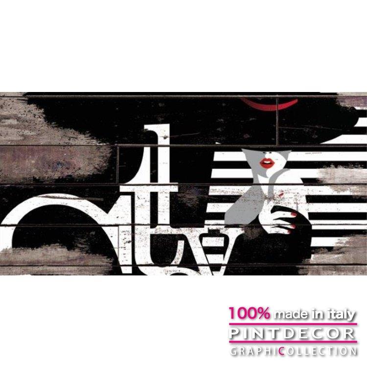 デコレーションパネル PINTDECOR グラフィコレクション STYLE G3838|ピントデコール イタリア アートパネル ウォールデコ ペインティング 絵画 リビング インテリア デザイン モダン ホテルライク 新居 イタリア直輸入