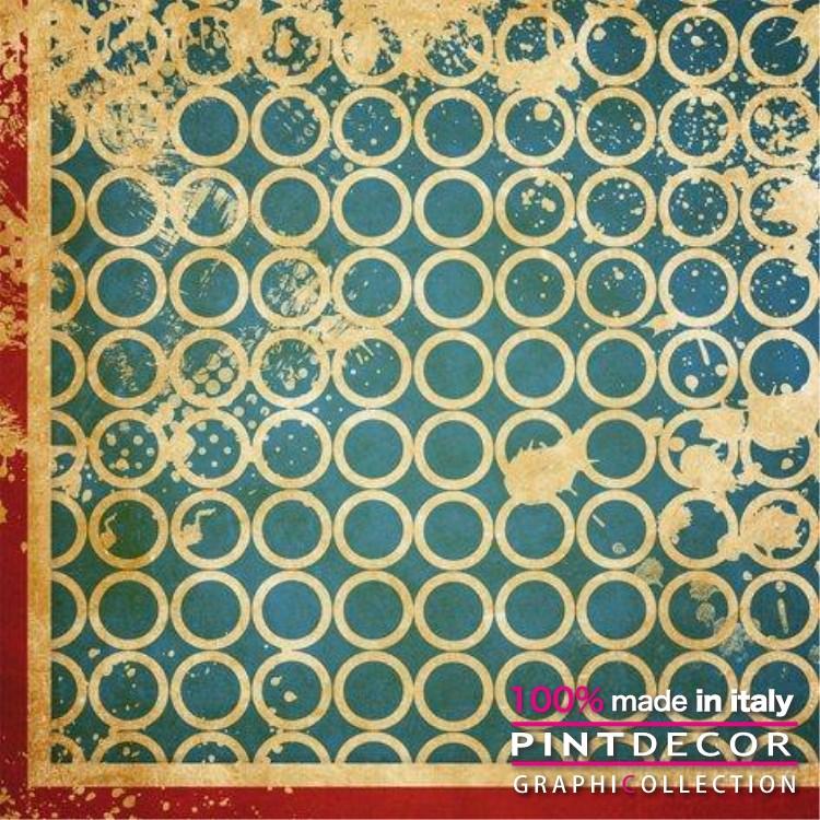 デコレーションパネル PINTDECOR グラフィコレクション CERCHIETTI G3966|ピントデコール イタリア アートパネル ウォールデコ ペインティング 絵画 リビング インテリア デザイン モダン ホテルライク 新居 イタリア直輸入