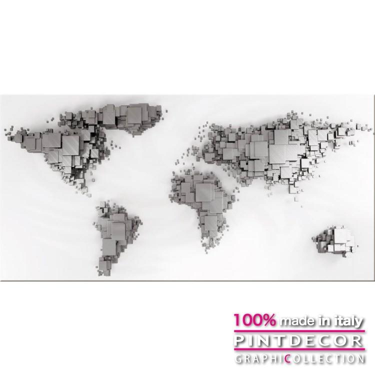 デコレーションパネル PINTDECOR グラフィコレクション MONDO G4762|ピントデコール イタリア アートパネル ウォールデコ ペインティング 絵画 リビング インテリア デザイン モダン ホテルライク 新居 イタリア直輸入