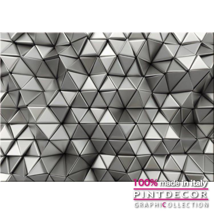 デコレーションパネル PINTDECOR グラフィコレクション TRIANGOLI CROMATI G4822 ピントデコール イタリア アートパネル ウォールデコ ペインティング 絵画 リビング インテリア デザイン モダン ホテルライク 新居 イタリア直輸入