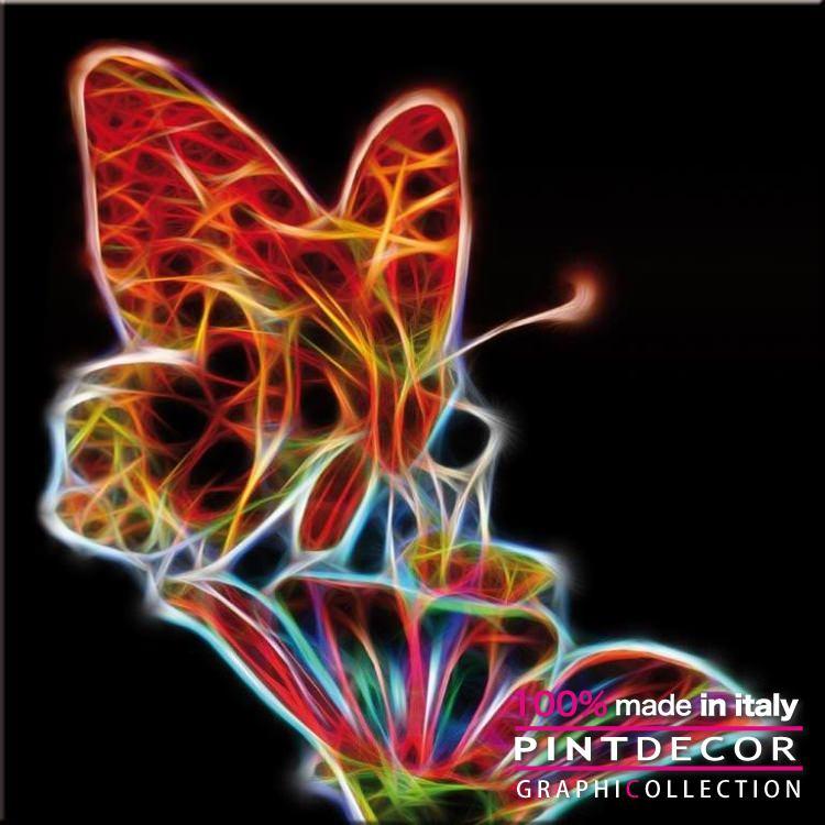 デコレーションパネル PINTDECOR グラフィコレクション LED G5606|ピントデコール イタリア アートパネル ウォールデコ ペインティング 絵画 リビング インテリア デザイン モダン ホテルライク 新居 イタリア直輸入