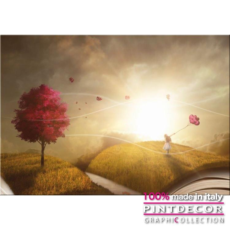 デコレーションパネル PINTDECOR グラフィコレクション COLLINE DI LIBRI G5702|ピントデコール イタリア アートパネル ウォールデコ ペインティング 絵画 リビング インテリア デザイン モダン ホテルライク 新居 イタリア直輸入