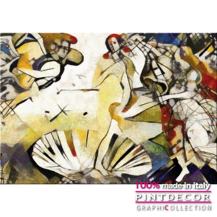 デコレーションパネル PINTDECOR グラフィコレクション VENERE MODERNA G6088|ピントデコール イタリア アートパネル ウォールデコ ペインティング 絵画 リビング インテリア デザイン モダン ホテルライク 新居 イタリア直輸入